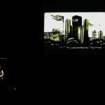 """Detroit Opera House.  """"Réalité De L'Art""""  -  sand show """"A Renaissance"""""""